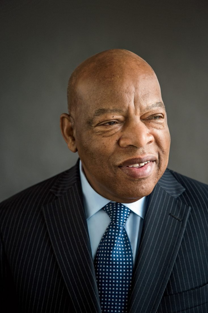 John Lewis  American civil rights leader and politician